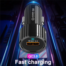 Tkey USB Car Charger Quick Charger QC 3 0 Car Charger Dual USB Charger Fast Car Charger for iphone Samsung Huawei Xiaomi cheap Qualcomm Quick Charge 3 0 A C Source 5V 2A BSMI MSDS WEEE ROHS IRAM INMETRO KEMA MEPS SASO C-Tick VCCI nemko