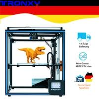 Upgraded Tronxy X5SA 3D Printer DIY Kits Touch Screen Auto Level Large Print Size 330*330mm heat bed 3d machine Filament Sensor