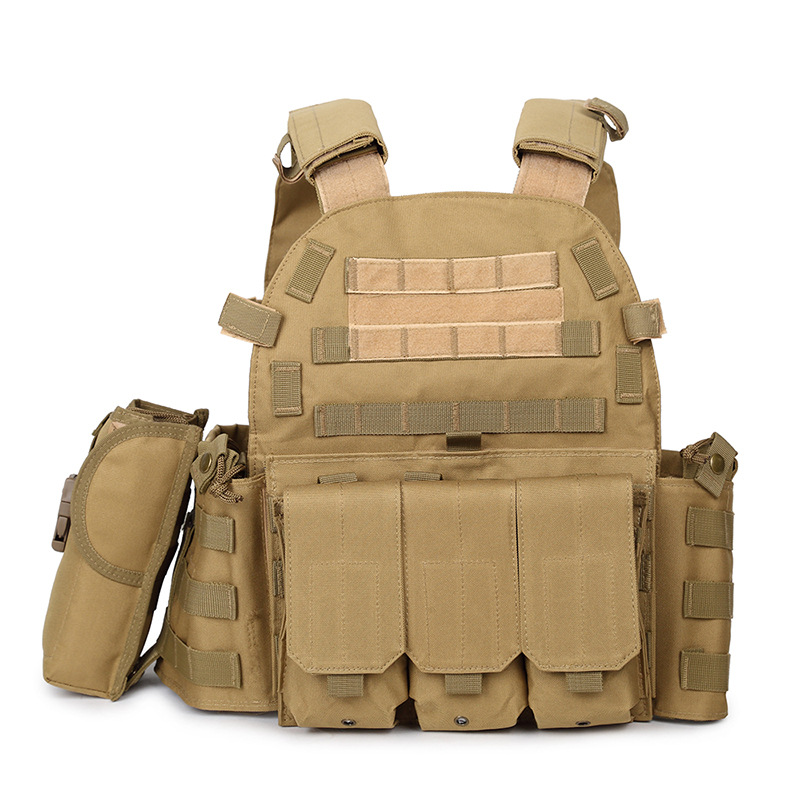 Jun Sheng COS Jedi Survival Level Three A CQC Ghost Tactical Vest Fu Te Ground Service CS Equipment Fishing Vest