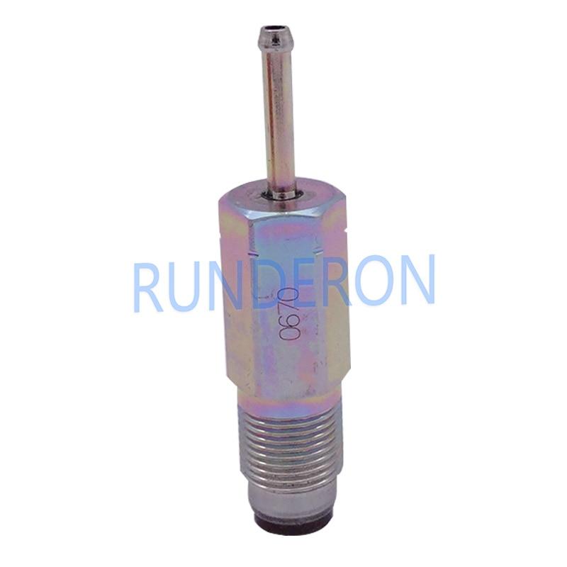 Sistema de combustible válvula de alivio de presión de Common Rail 095420-0670 para TOYOTA Vigo PLV