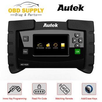 Auto Professional Car Key programming AUTEK IKEY820 Tool IMMO Key Programmer Read PIN Code Key Matching Car Diagnostic Tool