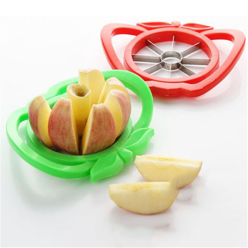 Kitchen Gadgets Stainless Steel Apple Cutter Slicer Vegetable Fruit Tools Kitchen Accessories Apple Easy Cut Slicer