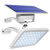 48 Led Solar Lamp Adjustable Outdoor Garden Wall Solar Light