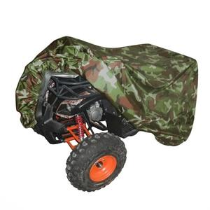 Image 4 - Quad אופני טרקטורונים כיסוי אוניברסלי 190T עמיד למים אופנוע קטנוע רכב Kart אופנוע מכסה M L XL XXL XXXL הסוואה שחור