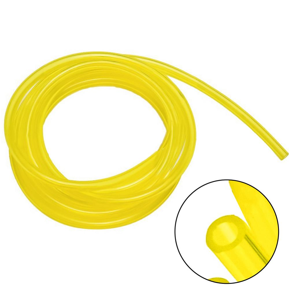 1 Meter Yellow Pipe Fuel Filter Line Oil Pipe Fuel Tank Spare Parts Motorcycle Bike Fuel Diameter Inner Dia 3mm*5mm 3mm*6mm