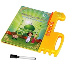 The First Children E-Book English Arabic Kid Electronic Learn Toy Baby English Arabic Bilingual Learning Reading Machine все цены