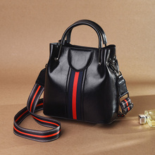 YILIAN fashion Women handbag bag European American trend Ms imitation oil leather diagonal Multifunction shoulder bags ST3064 стоимость
