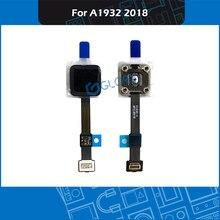 """Brandnew a1932 toque id botão 01830 a para macbook ar retina 13 """"a1932 substituição do botão de energia 01830 02 final 2018 mre82"""