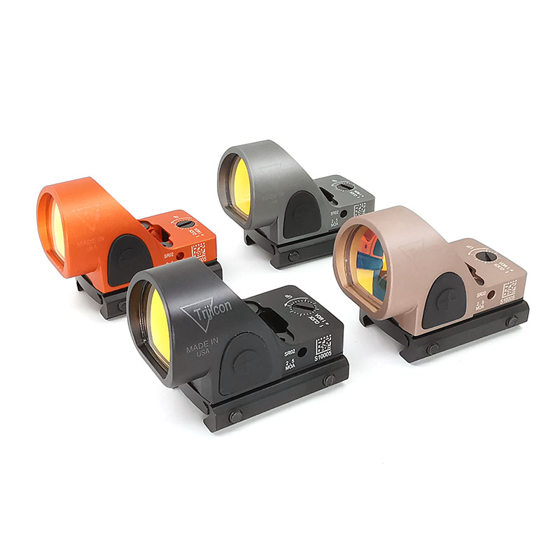 New Mini RMR SRO Red Dot Sight Collimator Glock / Rifle Reflex Sight Scope Fit 20mm Weaver Rail For Airsoft / Hunting Rifle
