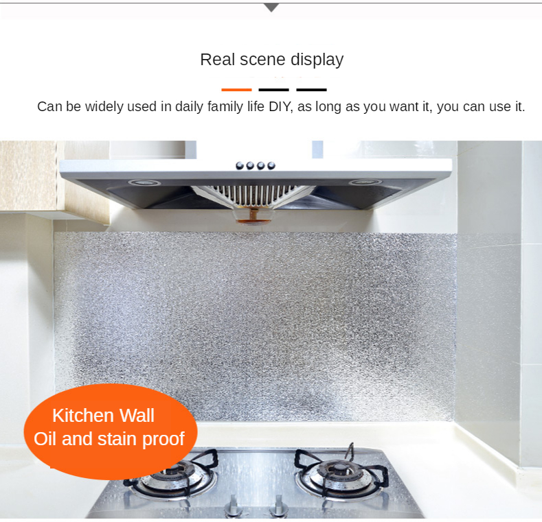 Kitchen Oil Proof Stickers