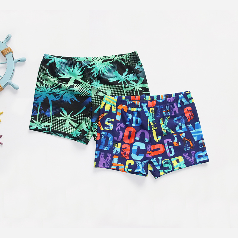 2019 New Style Free Lang CHILDREN'S Swimming Trunks Fashion Men Big Kid Large Size Beach Hot Springs Swimming Trunks Manufacture