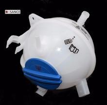 ISANCE Kühlmittel Reservoir Expansion Tank + Cap 1K0121407A Für VW CADDY EOS GOLF JETTA PASSAT TIGUAN AUDI A3 TT SKODA 1K0121407A