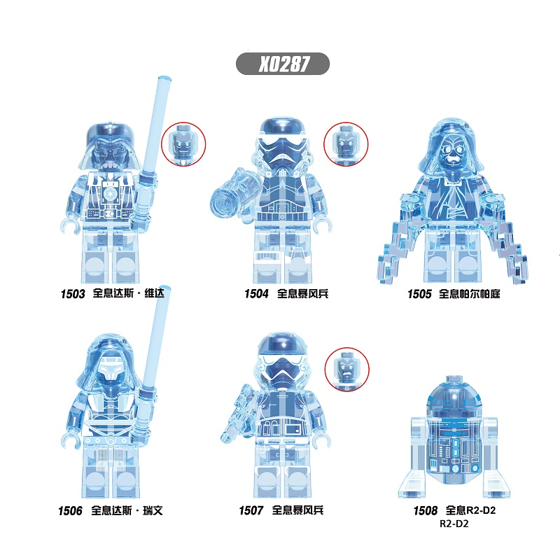 Building Blocks Wars Poe Dameron The Man Rhoda Emperor Palpatine Rhoda Sith Stormer Darth Vader Revan Figure Children Toys X0287