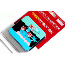 SD بطاقة الألعاب صندوق تخزين NS24 لعبور الحيوان ل نينتندو التبديل/التبديل لايت بطاقة الألعاب مقاوم للماء واقية