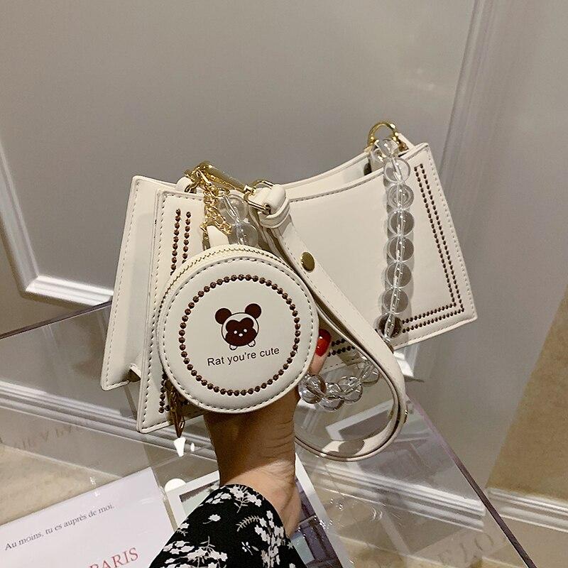 С Доставкой Popular Mini Bag 2020 Summer New Fashion Fashion All-match Shoulder Armpit Bag Korean-Style Net Red Messenger Bag