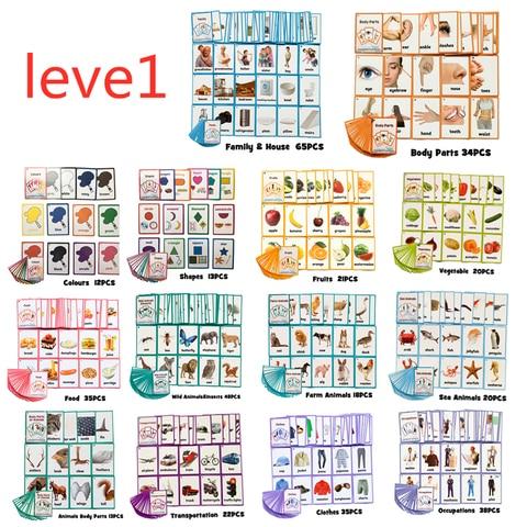 26 categorias 760 cartoes criancas aprender ingles palavra cartao ingles cartao de papel criancas brinquedos