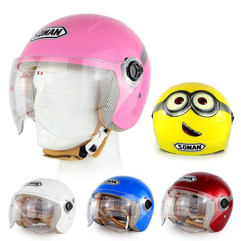 <font><b>Moto</b></font> Children's Riding <font><b>Helmets</b></font> Boys girls Bicycle Motorcycle Cycling <font><b>Kid</b></font> <font><b>Helmet</b></font> <font><b>For</b></font> Outdoor Sports Four Seasons 48-52cm image