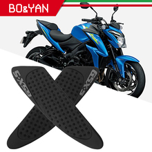 For Suzuki Gsx s GSX S 1000 2017 2015 Motorcycle Tank Side Traction Pad Decal Gas Knee Grip Protector Non Slip Rubber Sticker
