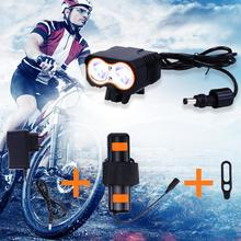 Bicycle Light Rechargeable XM-L T6 LED Bike With Battery Pack And Charger Flashlight Accessories