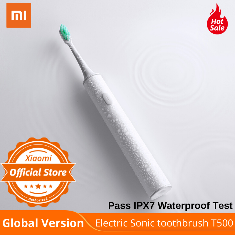 Электрическая зубная щетка Xiaomi Sonic T500, глобальная версия, 31000 раз, вибромотор, персональный режим щетки, ежедневный отчет Электрические зубные щетки      АлиЭкспресс