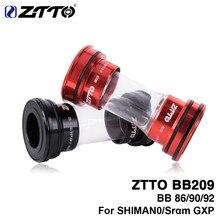 ZTTO – supports de fond de vélo à pression, pour pièces de bicyclette de route, de vtt, 24mm, pédalier k7 GXP 22mm, BB209, BB92, BB90, BB86