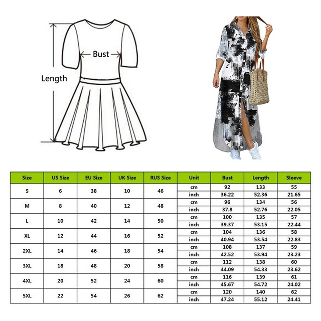Maxi Beach Dress Elegant Women Button Long Shirt Dress Summer Split Print Lapel Neck Party Dress Long Sleeve Checked Plaid Robe 6