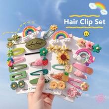 De moda de заколки Animal adorable pinza del pelo de fruta, accesorios para el cabello para las mujeres las niñas coreano pelo Clips y pines kawaii broches diadema