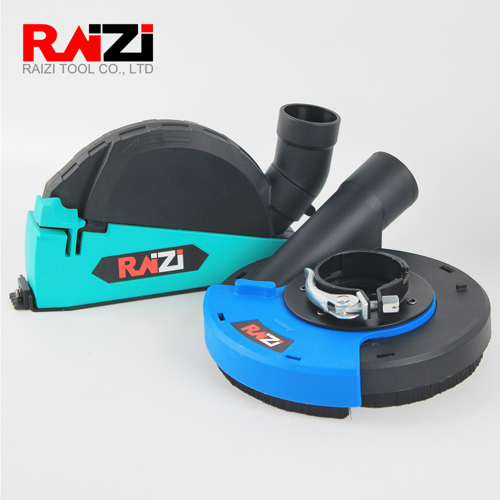 Raizi 5 Inch/125 Mm Universal Angle Grinder Dust Shroud For Grinding Cutting Dust Collector Attachment