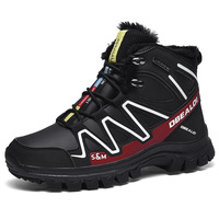 Waterproof Hiking Shoes For Men Leather Mountain Climbing Shoes Quality Outdoor Trekking Shoes Breathable Sneakers Hunting Boots
