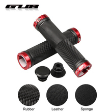 2019 GUB Bicycle Grips Anti-slip Rubber/Sponge/Leather MTB Road Bike Handlebar Grips Shock Absorption Cycling Handlebar Cover