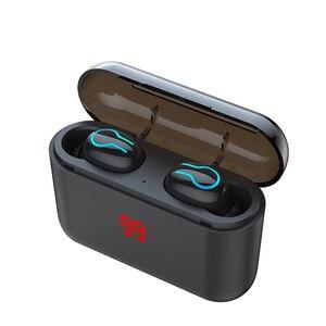 Image 4 - HBQ Q32 Bluetooth Không Dây 5.0 TWS Tay Nghe Tai Nghe Nhạc Thể Thao Tai Nghe Nhét Tai Chơi Game Điện Ngân Hàng