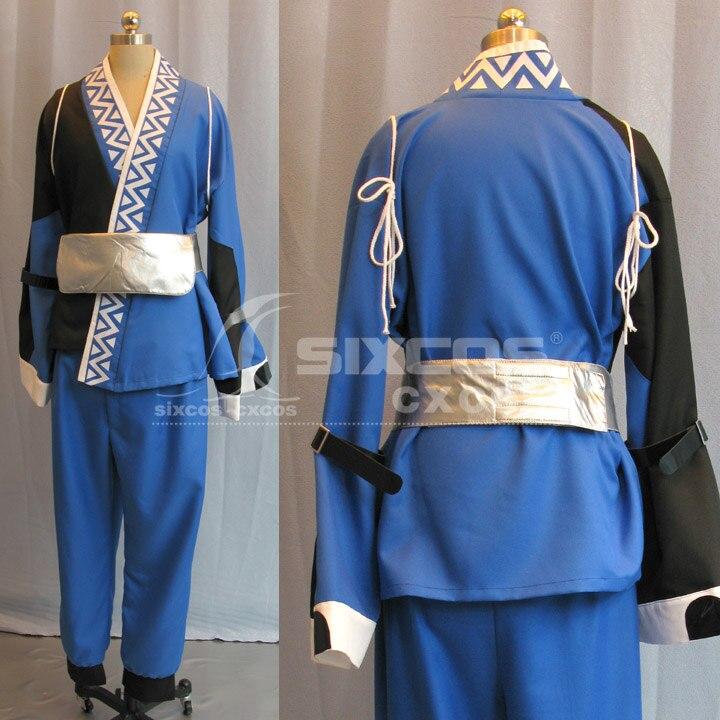 Touhou projeto morichika rinnosuke cosplay traje de