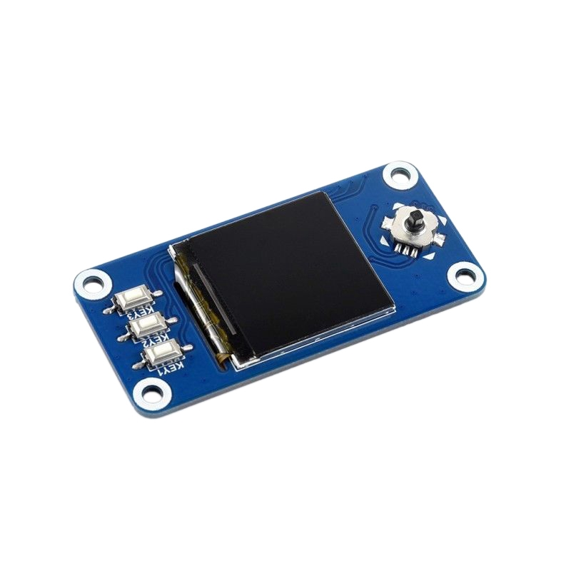 Waveshare 1.3Inch IPS LCD Display HAT For Raspberry Pi Zero/Zero With Zero WH/2B/3B/3B+/4B,240X240 Pixels,SPI Interface