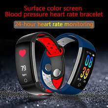 2019 CW15 Heart Rate Monitor Fitness Bracelet Smart Wristband Blood Pressure/Oxygen Smart Bracelet Q6 Band IP68 Waterproof Watch(China)