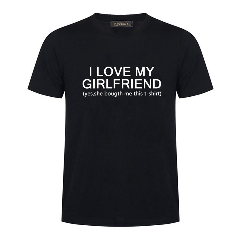 Футболка мужская с надписью «I Love My Girl», модная тенниска в стиле Харадзюку, топ с коротким рукавом, одежда для мужчин, S5MC88