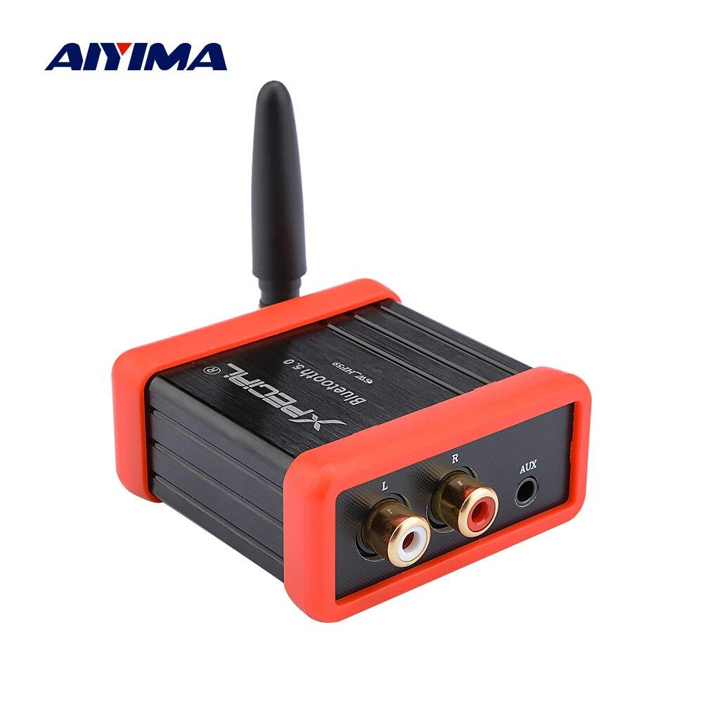AIYIMA Bluetooth amplificador de Audio receptor QCC3008 5,0 HIFI para coche de Audio amplificador de Altavoz Bluetooth modificación DIY