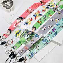 Cartoon Pattern Universal Mobile Phone Straps Rope Cute Strap Neck Lanyards For iphone huawei Case Hang Keychain