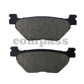 Motorcycle Rear Brake Pads for YAMAHA TDM900 Non ABS 2002-2013 TDM 900 2005-2013 XVS 950 V-Star 2009-2014 image