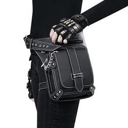 Retro Waist Bag Outdoor Multi-functional Single Shoulder Messenger Bag Womens Mobile Phone Bag