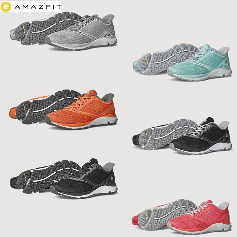 Amazfit Antelope Light Smart Shoes Outdoor Sports Shoes Rubber Comfortable Breathable Sneakers Women For Xiaomi Smart Home