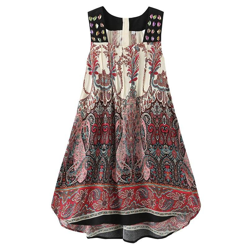 Menina vestido de verão 2021 novo algodão crianças boêmio vestidos para meninas roupas da menina do bebê crianças vestido de praia 3-10 anos de idade vestidos