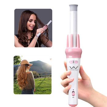 Electric Hair Curling Iron Automatic Rotating Hair Curler Fast Heating Constant Temperature Ceramic Heating Tube No Harm To Hair 1