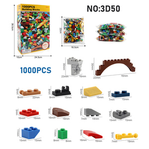 Image 4 - 1000PCS DIY Building Blocks Figures Educational Creative Compatible With brands bricks Toys for Children Kids Birthday Gift