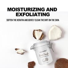 Naturals Coconut Milk Body Scrub Bath Salt Exfoliating Moisturizes Coconut Milk Scrub Naturally Pure Body For Face Body Care