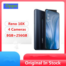 "Original Oppo Reno 10x zoom Mobile Phone Snapdragon 855 6.6"" IPS 2340X1080 8GB RAM 256GB ROM 48.0MP Slide Camera NFC Fingerprint(China)"