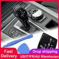 Автомобильная ручка переключения передач Панель кнопка Крышка эмблема M производительность стикер для BMW X1 X3 X5 X6 M3 M5 F01 F10 F30 F35 F15 F16 F18
