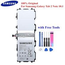 100% Orijinal tablet bataryası SP3676B1A Samsung Galaxy Note 10.1 için GT N8000 N8005 N8010 N8013 N8020 GT P7500 P7510 P5100 P5113