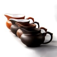 الأرجواني الطين gongبتصميم الشاي Gongfu فنجان شاي Dehua السيراميك أكواب شاي رسمت باليد تصفية أكواب الشاي البحر ، 1 قطعة gongبتصميم الشاي