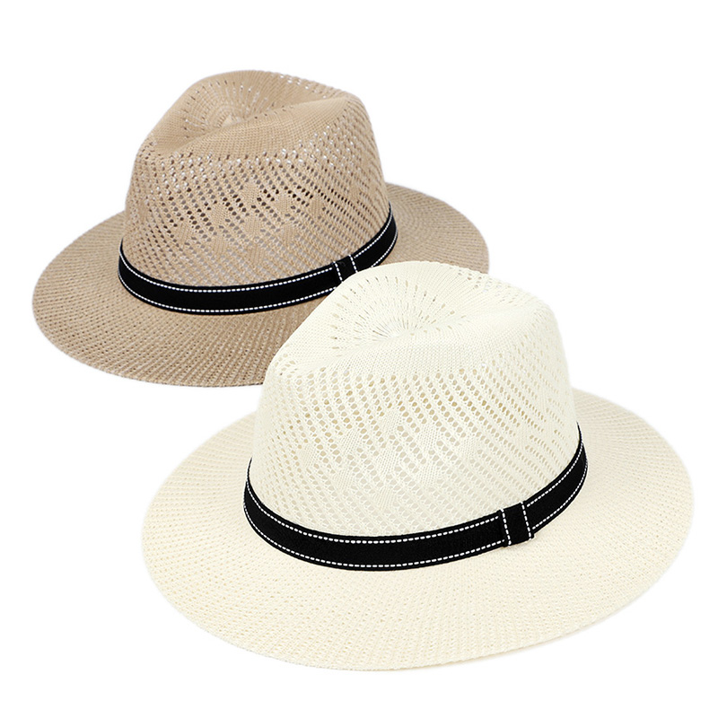 Summer Hat Women Straw Hat Beach Sun Toilet Paper Casual Black Breathable Sun Hats For Women Summer Straw Hat