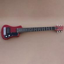 Boa qualidade mini guitarra elétrica viagem saco livre